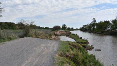San Nicolás: la Justicia ordenó al Municipio restaurar el camino de Parque Aguiar