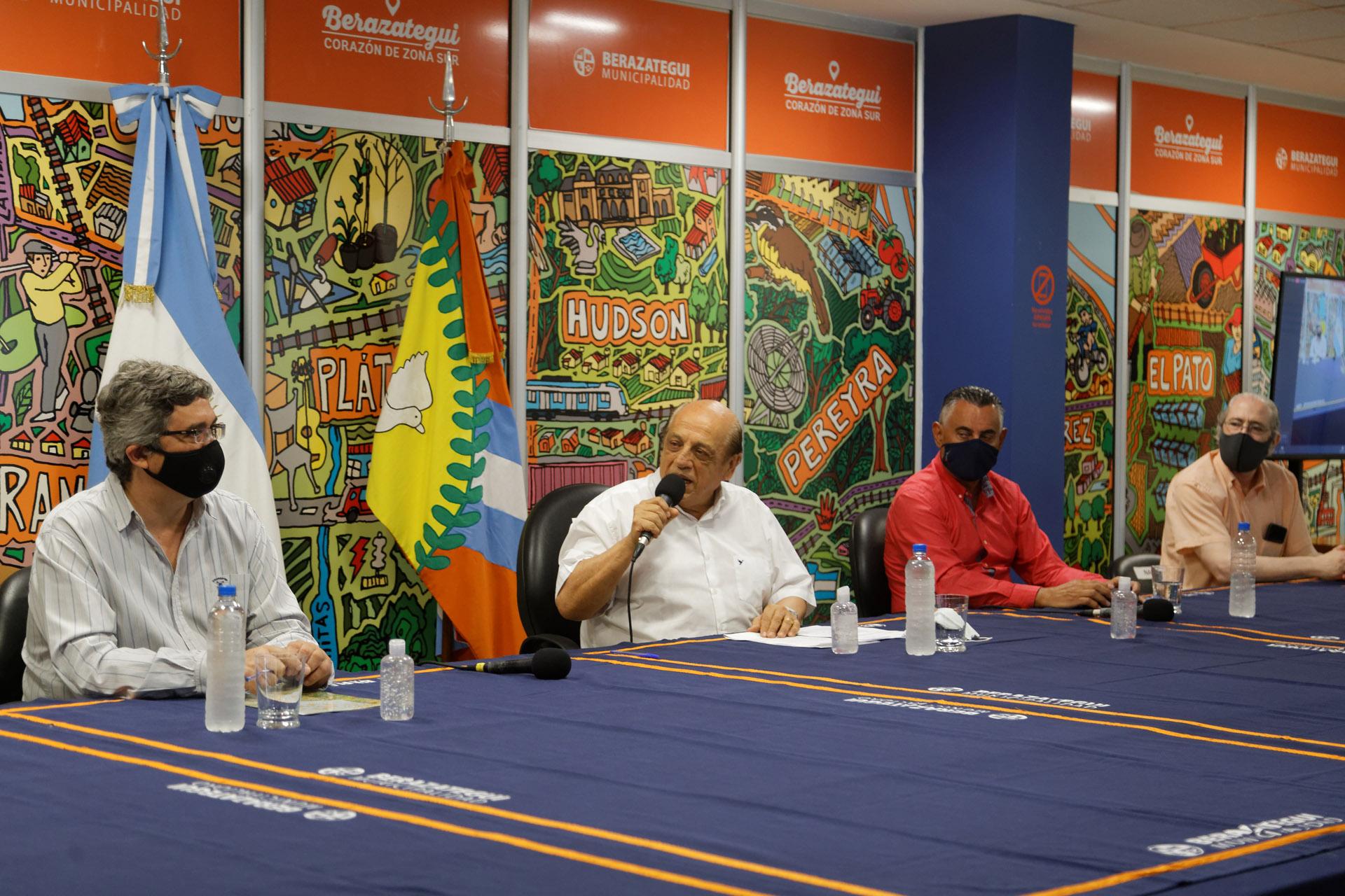 """Planificando Berazategui: Lanzaron la """"Mesa 2050"""" para el desarrollo productivo"""