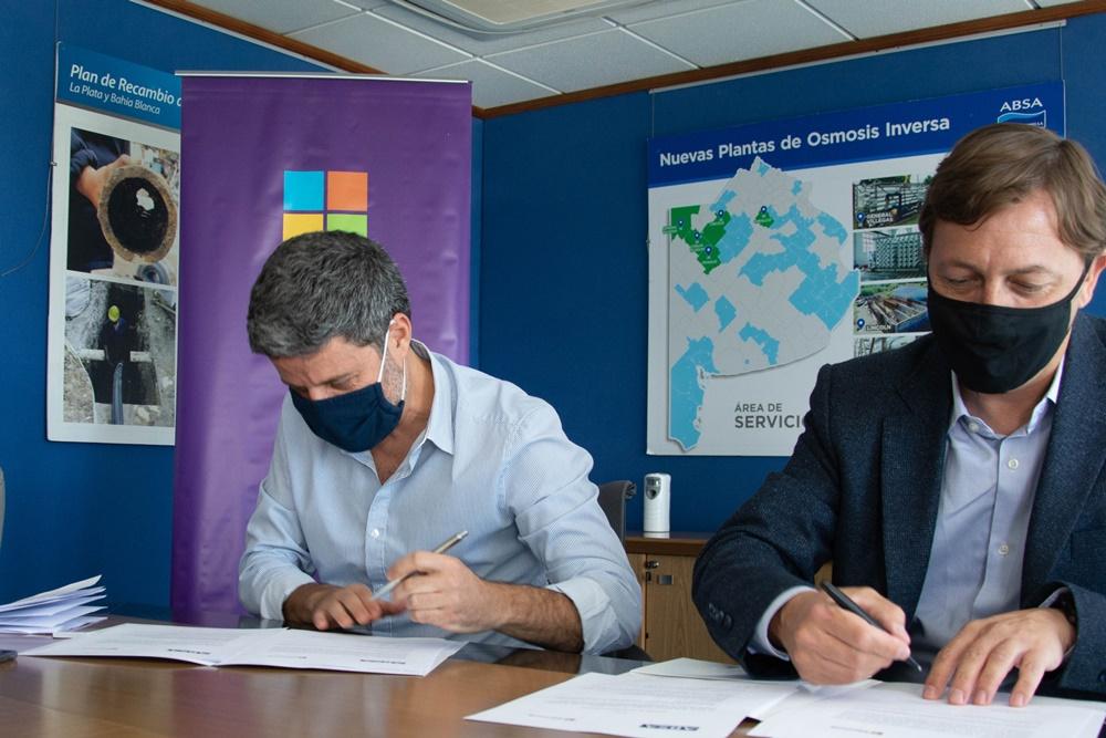 """ABSA firmó un acuerdo con Microsoft para estudiar el """"estado cambiante"""" del Río de la Plata"""