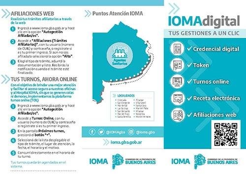 """""""IOMA Digital"""": Credencial virtuales, token, recetas electrónicas una gran apuesta innovadora en materia tecnológica"""