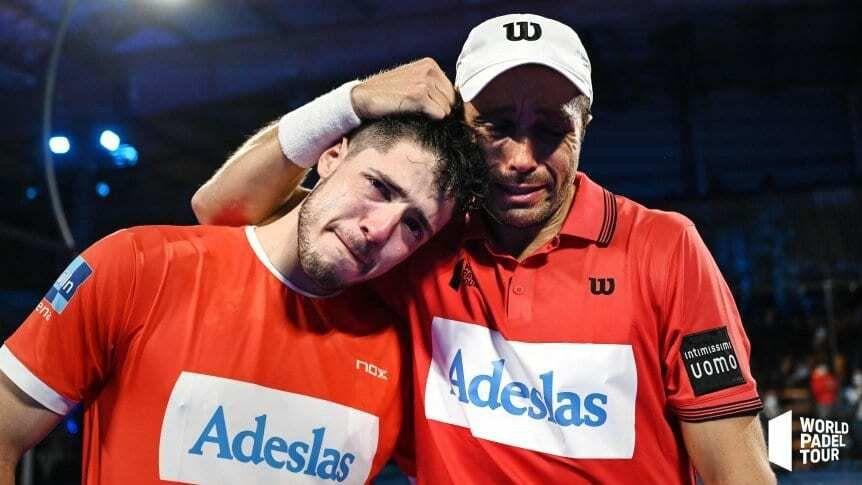 El Pehuajense, Fernando Belasteguín con 41 años volvió a demostrar porque es el maestro del padel mundial