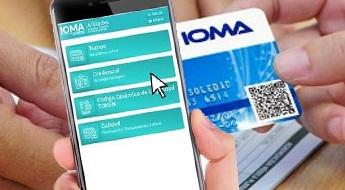 IOMA / Las credenciales digital y plásticas, ambas son válidas