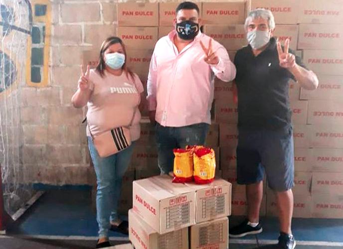 FAUPPA Avellaneda entregó más de mil pan dulces a comedores y hogares