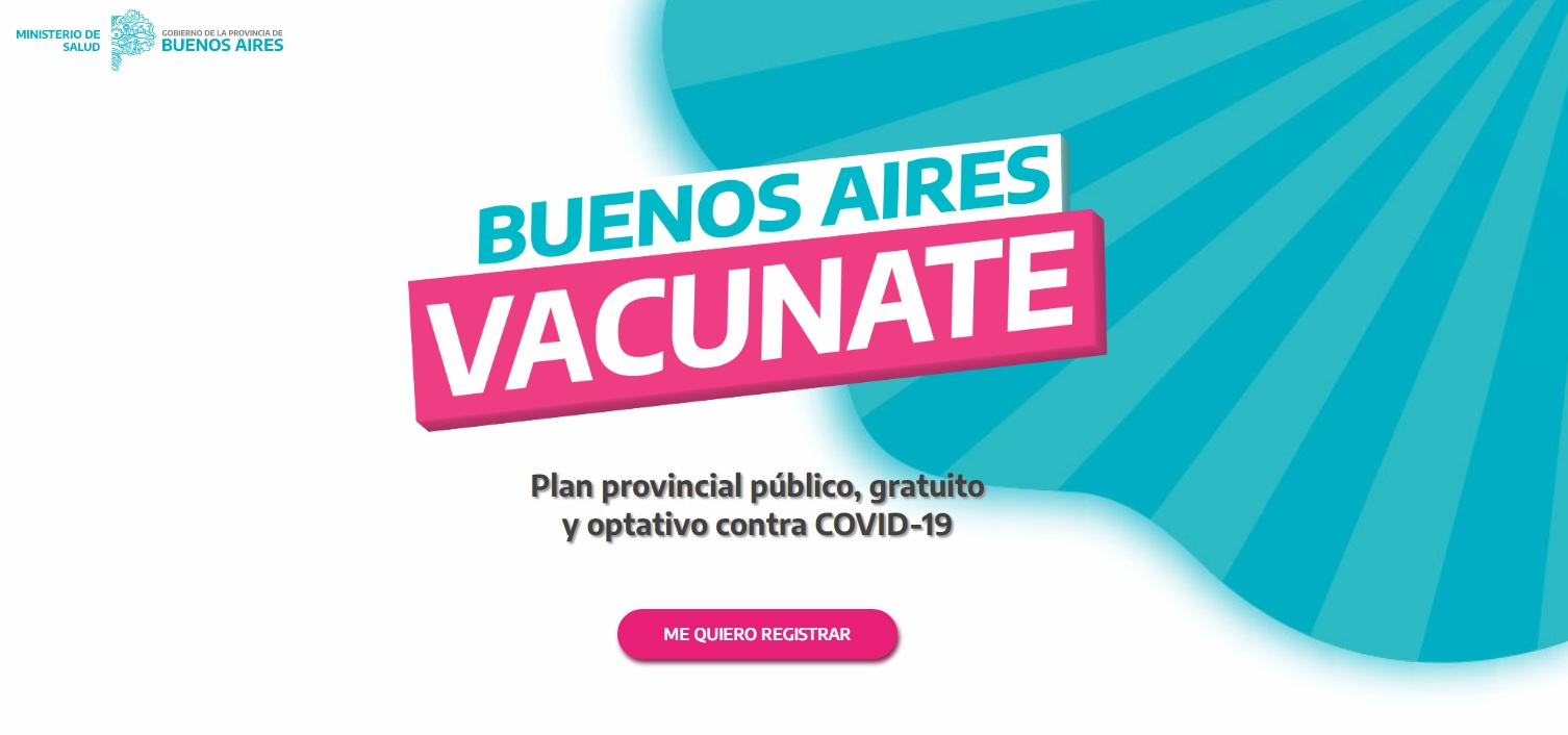 ¿Cómo es el Plan Provincial Buenos Aires Vacunate?