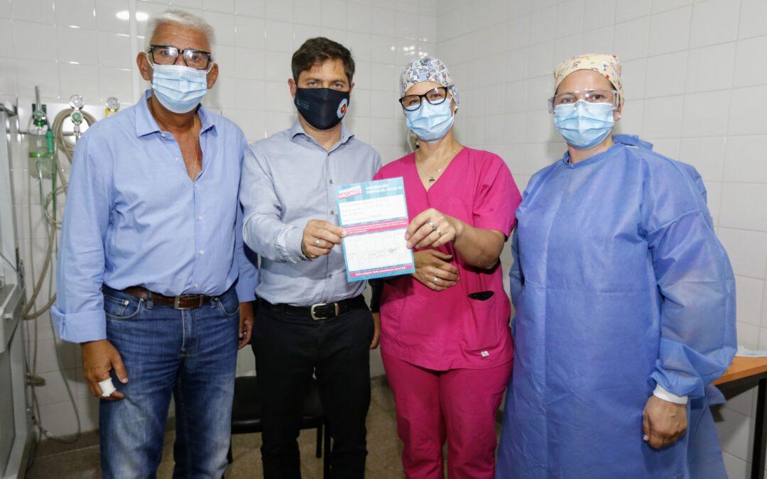 """Kicillof desde Monte Hermoso: """"Tras 4 semanas de aumentos, se estabilizaron los contagios en la provincia"""""""