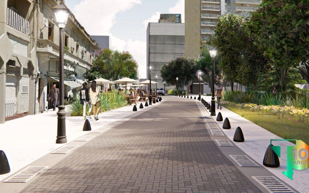 Manuel Passaglia revaloriza la identidad de los Nicoleños reconstruyendo su plaza principal