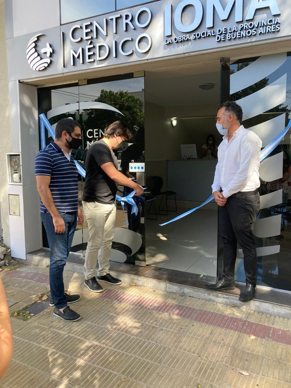 IOMA abre el primer policonsultorio de atención en clínica médica en La Plata