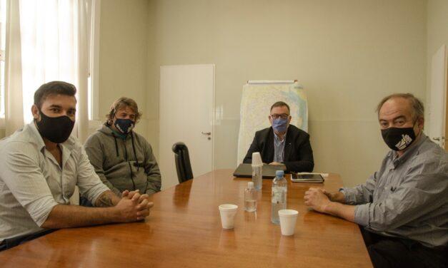 Obras Viales para Tapalqué: Gustavo Cocconi se reunió con el titular de Vialidad Provincial