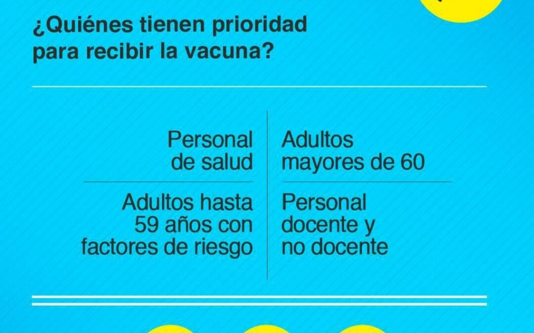 El paso a paso para anotarse y recibir la vacuna contra el Covid-19