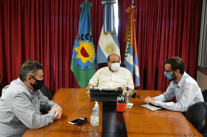 """Mussi gestiona obras en provincia: """"Venimos de 4 años sin obras para Berazategui"""""""