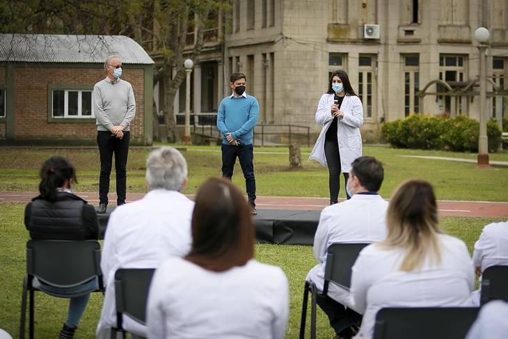 """La Provincia declaró al 2021 como el """"Año de la Salud y del Personal Sanitario"""""""