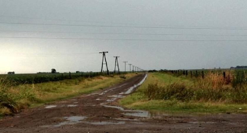"""El Servicio Meteorológico lanzó una """"alerta roja"""" por fuertes lluvias en el sur bonaerense"""