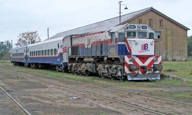 """""""Es muy factible"""": Bolívar se ilusiona con la vuelta del tren luego de un relevamiento de vías"""