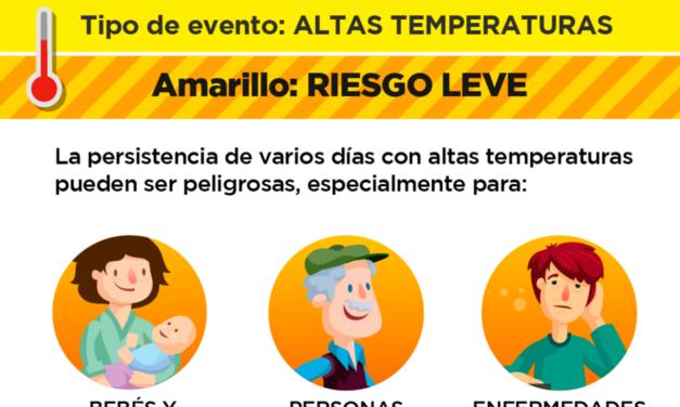 Con máxima de 34º sigue el alerta amarillo en la ciudad de La Plata hasta el Miércoles