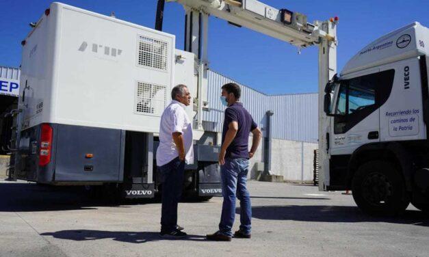 ¡Que no se pasen de vivos! Scanner para camiones en el parque logístico de Mercedes
