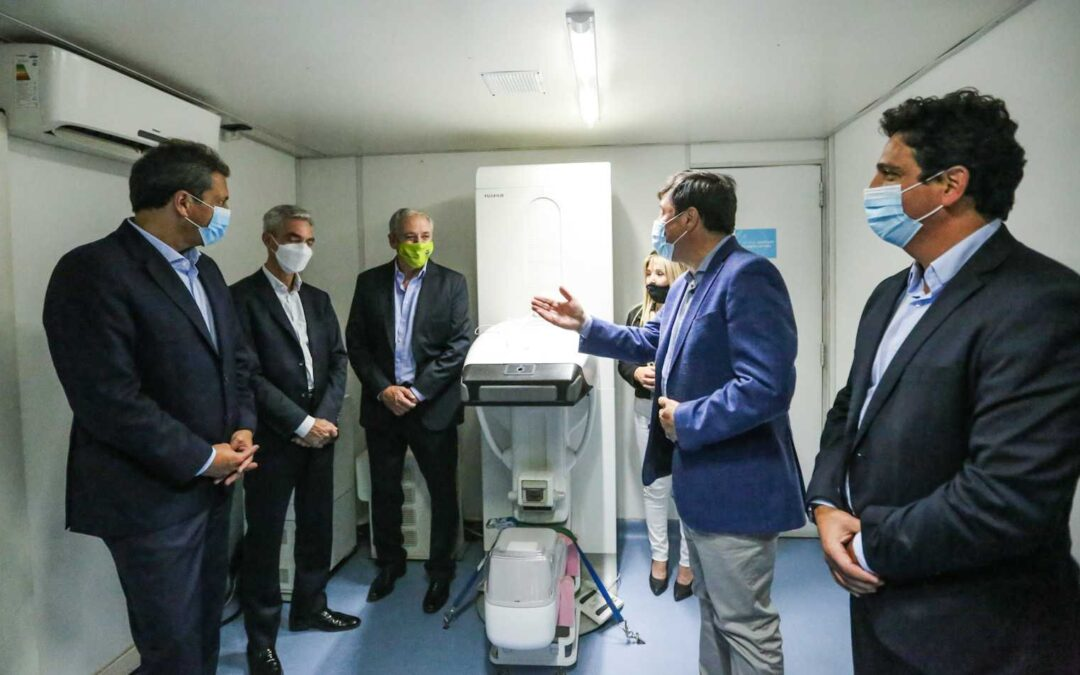 """Con 12 vagones y última tecnología, volvió a funcionar el tren sanitario """"Dr. Ramón Carrillo"""""""