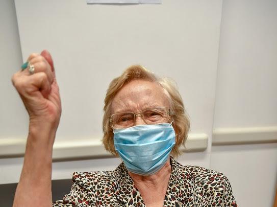 Una cañuelense de 90 años es la argentina número un millón en ser vacunada