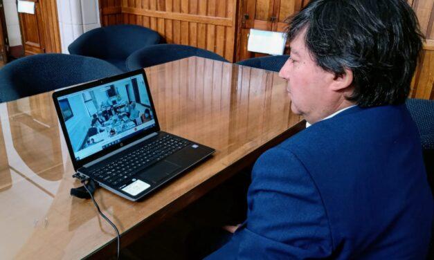 Alejandro Acerbo participó de una reunión con Kicillof y Gollán sobre la situación epidemiológica en la provincia