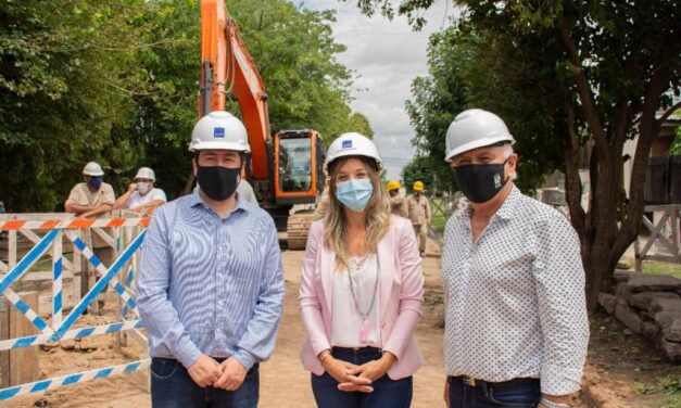 AySA avanza con una obra que llevará agua potable a 230 mil vecinos de Malvinas Argentinas