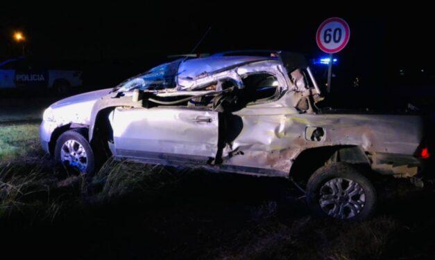 Una mujer murió al chocar contra un camión del Correo Argentino: el chofer dio 2,66 en el test de alcoholemia