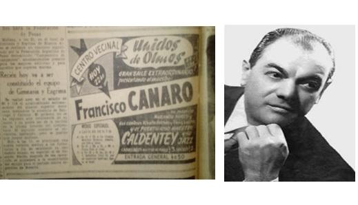 El Tangazo del Fin de Semana: Unidos del Olmos, aniversario con el recuerdo de Canaro