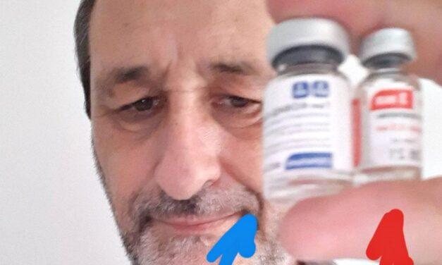 """""""En la Provincia la vacunación es muy transparente"""", aseguró el intendente Laprida"""