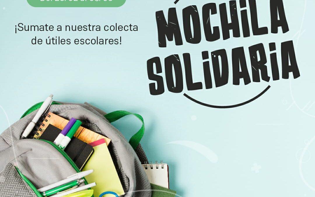 """San Nicolás lanza la campaña """"Mochila Solidaria"""" para recolectar útiles y donar a merenderos"""