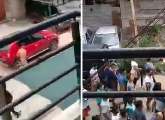 La Matanza: Vecinos hartos de la inseguridad detuvieron y desnudaron a tres ladrones