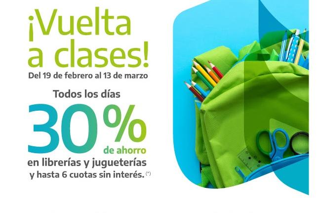Con ahorros hasta el 30%, Banco Provincia lanzó una nueva campaña para el regreso a clases