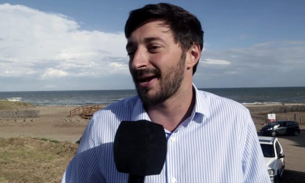 """Martín Yeza, intendente de Pinamar: """"Tenemos 400 casos de covid activos y casi 300 son turistas"""""""