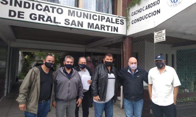 Trabajadores Municipales de San Martín firmaron Convenio Colectivo de Trabajo
