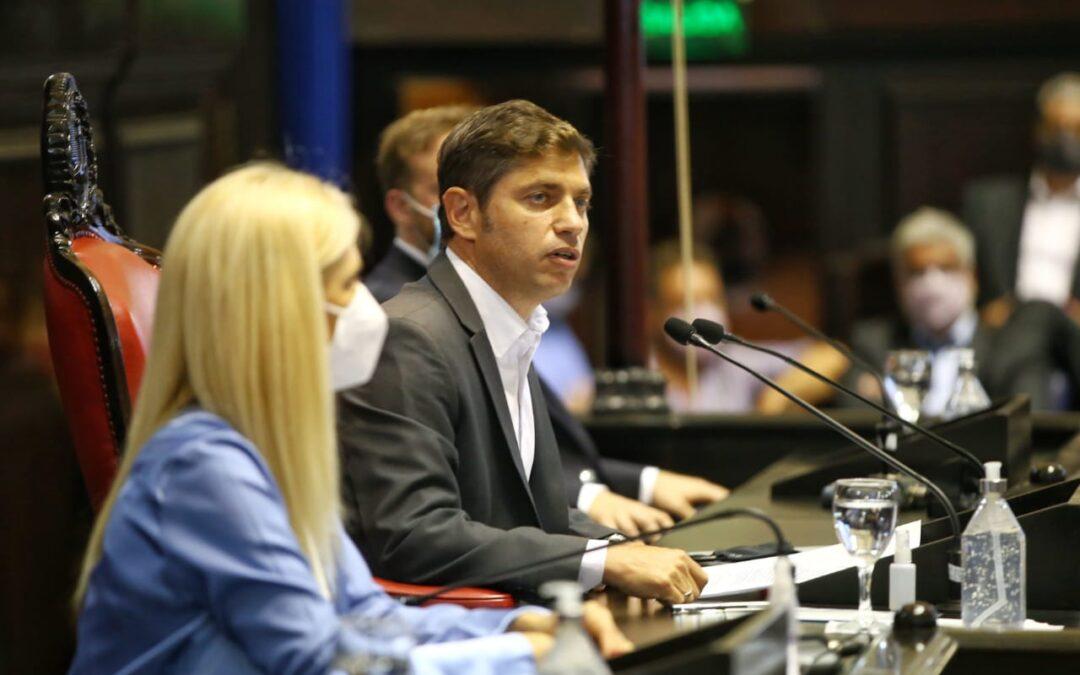 Apertura de sesiones: el discurso de Axel Kicillof en la Legislatura bonaerense