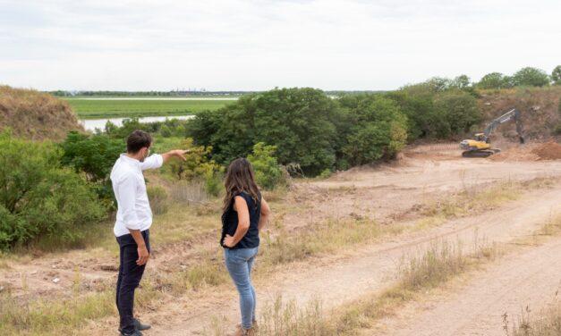 """Passaglia quiere un San Nicolás """"de cara al Río"""" y realiza obras en el Parque del Acuerdo"""