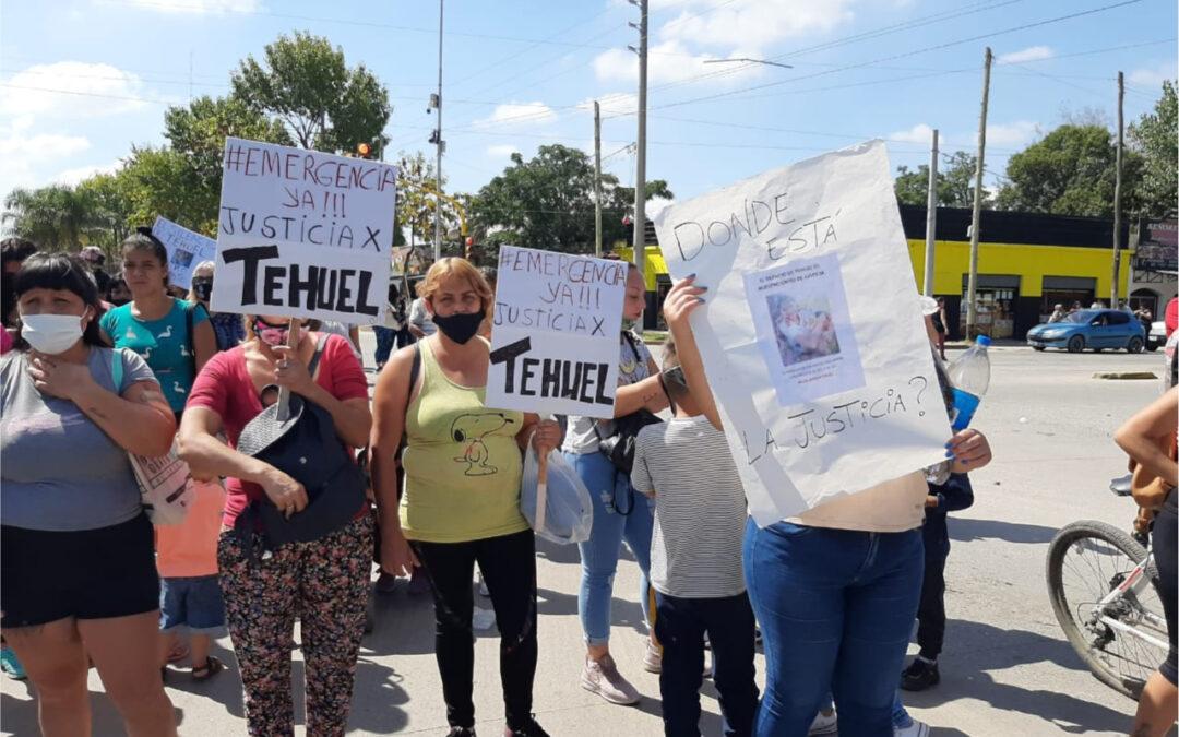 Tehuel sigue sin aparecer: Realizan una marcha de antorchas en el día de su cumpleaños