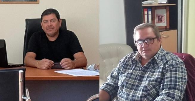 Roberto Tejeda y Gastón Moreno ATILRA