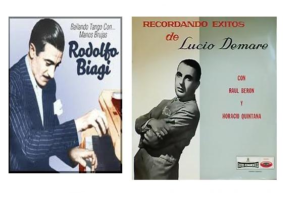 El Tangazo del Fin de Semana: Rodolfo Biagi en Berisso y Lucio Demare en Ensenada