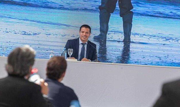 Cristian Cardozo abrió las sesiones en el Partido de La Costa con el objetivo puesto en llegar al 100% de cloacas
