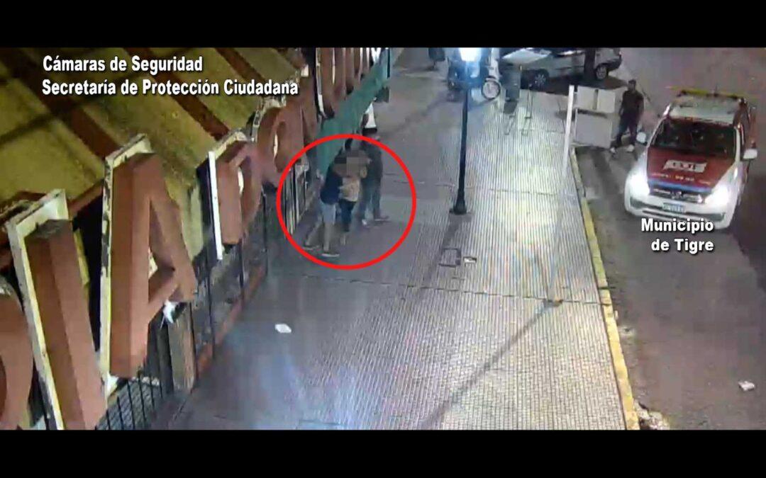 Violencia de Género: Una mujer estaba siendo amedrentada por su pareja y la policía la salvó – video