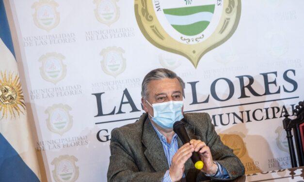 """El intendente de Las Flores preocupado por la segunda ola: """"Vemos un punto de inflexión"""""""