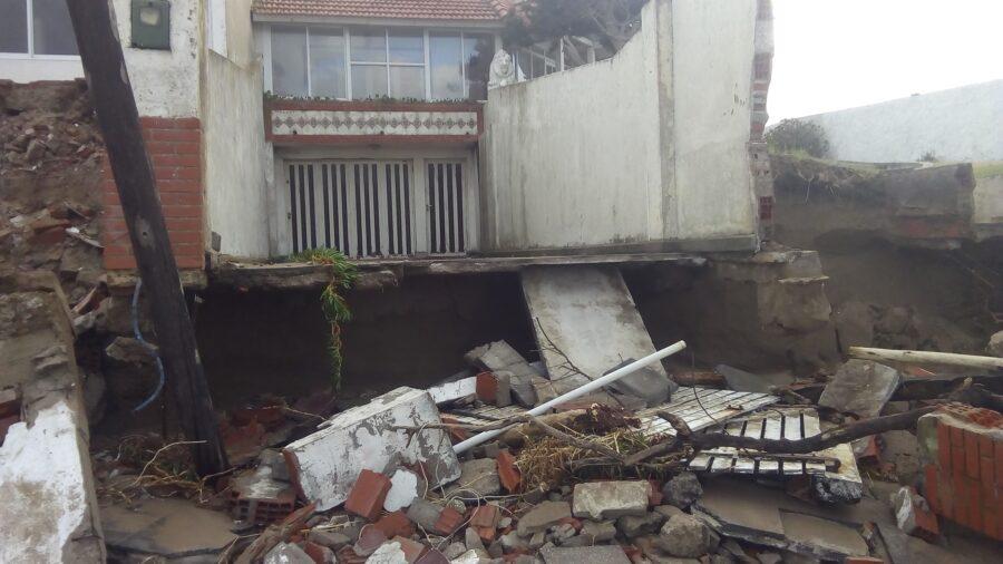 Efectos de la sudestada en Las Toninas