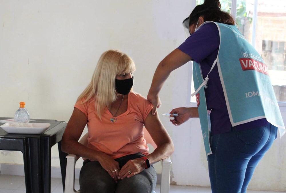 Quiénes se están vacunando y cómo sigue la vacunación en la Provincia de Buenos Aires