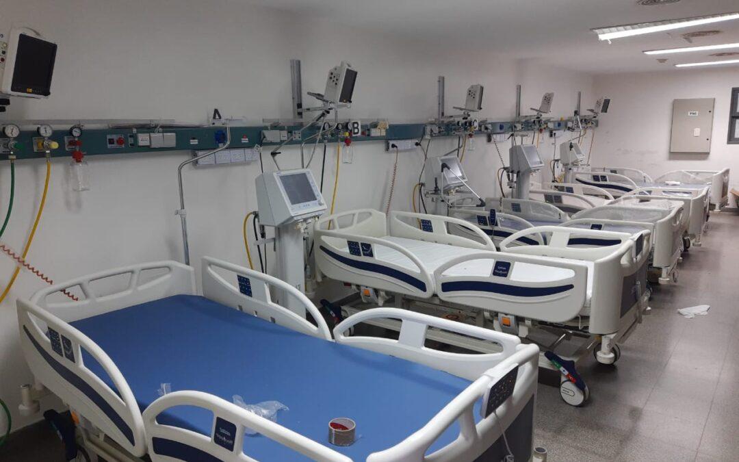 Segunda Ola: Provincia sumó 250 camas de terapia intensiva, personal capacitado y 300 concentradores de oxígeno