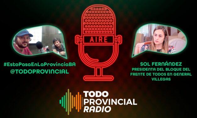 "Villegas: Sol Fernández tildó de ""irresponsable"" la creación de un Comité de Ética que elija a quién le toca un respirador"