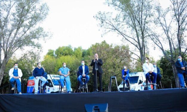 Insaurralde anunció la entrega de un beneficio económico a casi 2000 trabajadores de salud de Lomas