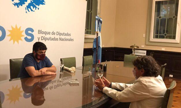 Pablo Micheli se reunió con Facundo Tignanelli y avanza en un armado seccional