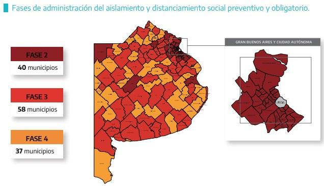 Más de la mitad de la provincia continúa con clases presenciales ¿Qué municipios son?