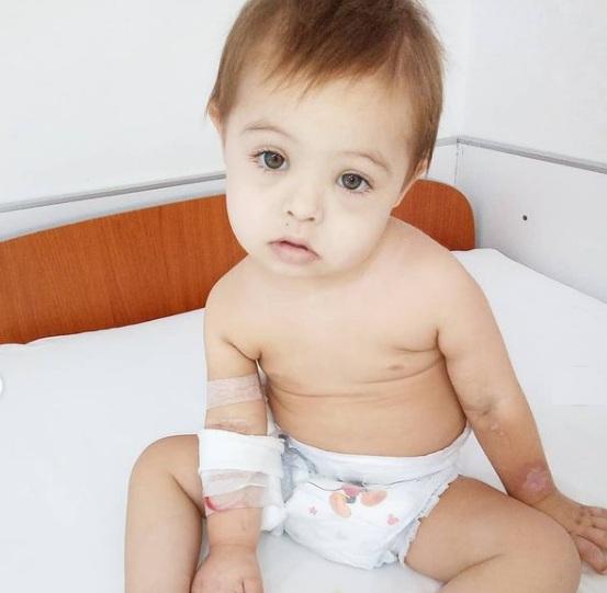 Falleció Victorino, el bebe casarense con sindrome de down que luchaba contra la leucemia en La Plata