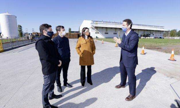 """Kicillof habilitó el parque industrial de Moreno con la """"mira puesta"""" en la industria nacional"""