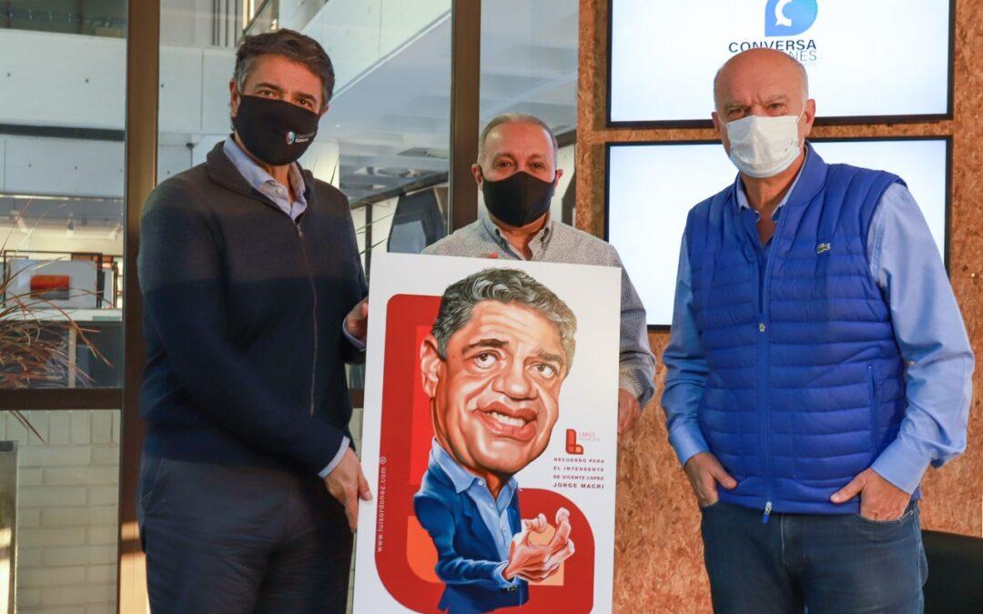 En Lanús se reunieron Grindetti y Macri pidiendo mayor autonomía para los municipios