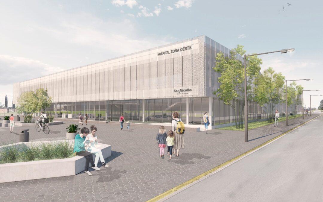 San Nicolás avanza con la construcción del nuevo Hospital Municipal de Zona Oeste